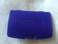 Nintendo gameboy color gbc game boy couleur batterie de remplacement housse-violet