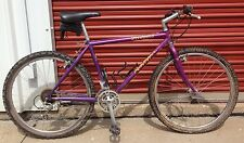 VINTAGE  SPECIALIZED ROCKHOPPER Purple MOUNTAIN Touring BIKE Suntour Expert XC