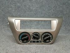 02-06 Mitsubishi Lancer Climate Control Heater Control Switch  BEZEL A/C TESTED