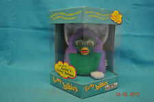 Furby Babies 1999 Tiger Electronics Model 70-940 Purple & Green New Sealed Box