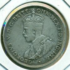 1934 AUSTRALIA FLORIN, NICE VERY FINE, GREAT PRICE!