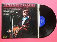 Johnny Cash - I'm So Lonesome I Could Cry, Hallmark SHM-3027 Ex Condition