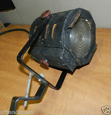 5974/ Vintage Mid Century THEATER STAGE Industrial Lamp ~ Steampunk Light  Works