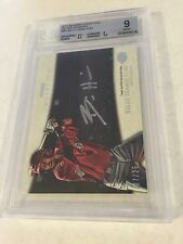 2013 BOWMAN INCEPTION SILVER INK BILLY HAMILTON AUTO RC /25 BGS 9 MINT POP 1