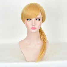 How To Train Your Dragon Astrid/Edward Elric Light Blonde Braid Cosplay Wig C127