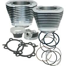 S S Cycle Silver Powdercoat Big Bore 97 Kit for 1999-2006 Harley Twin Cam