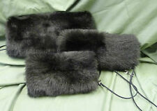 Faux Fur Hand Muff - Available in 3 Different Sizes and 13 Different Colours