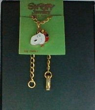 """Vintage Peanuts Snoopy Jewelry """" Flying Ace""""  Bracelet New On Card Hard To Find"""