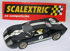SCALEXTRIC SPAIN ALTAYA DUELOS MITICOS FORD GT 40 #2 B.McLAREN-C.AMON   LTED.ED.