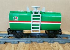 "NEW Lego Train Custom Green Octan Car 6"" inches long fits RC/9V"