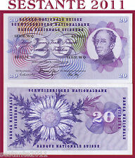 SWITZERLAND / SVIZZERA - 20 FRANKEN 7.2. 1974 sign. 43   - P 46v  - FDS / UNC