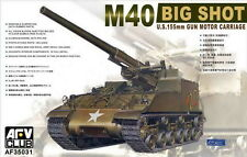"AFV Club 1/35 AF35031 US M40 155mm Gun Motor Carriage ""BIG SHOT"""