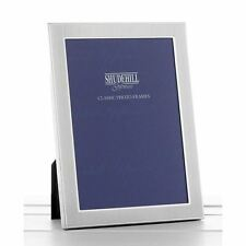 "4x6"" Silver Plain Photo Frame Traditional for Living Room Christmas Gifts Xmas"