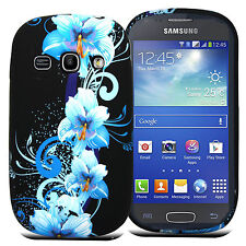 STYLISH SILICONE GEL CASE COVER SKIN FOR SAMSUNG Galaxy Ace 4 SM-G357FZ + SP