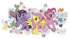 MY LITTLE PONY wall stickers MURAL decals Twilight Sparkle Fluttershy Pinkie Pie