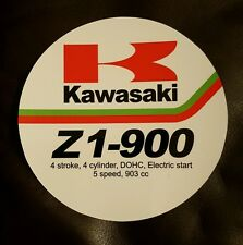 Kawasaki Z1 900 / Z1R / Z1000 / Z1100R / headlight dealer sales tag  ( RARE )
