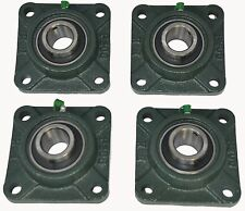 "UCF204-12 3/4"" Square 4 Bolt Flange Block Mounted Bearing Unit (Qty. 4)"