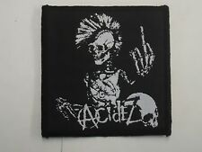 ACIDEZ PUNK SPEED/THRASH WOVEN PATCH