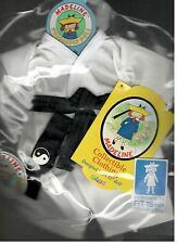 Madeline 15 inch Doll Ragdoll Karate Judo Outfit Eden Headband Black Belt  New