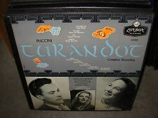 EREDE / PUCCINI turandot ( classical ) 3lp box london
