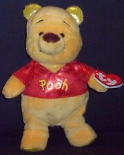 TY DISNEY WINNIE the POOH SPARKLE BEANIE BABY- MINT with MINT TAGS