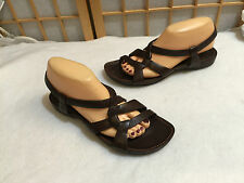 Timberland Comforria Brown Leather Sandal Shoe Slingback 10 M