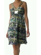BNWT * COAST * Size 8 * LUXE *PRINT MULTI COLOUR SILK SEQUIN DRESS Party Evening