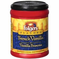 Folgers Flavors French Vanilla Ground Coffee (OVERSTOCK SALE)