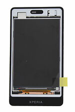 Genuine Sony ST27i Xperia Go Black LCD Screen With Frame - 1264-8191