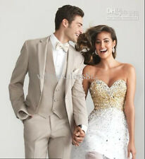 Hot Sale mens Wedding Suits Groom Tuxedos Groomsman Best Man Suits Party Blazers