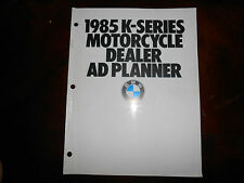 NOS BMW OEM 1985 Motorcycle Dealer AD Planner K-Series K100 RS RT