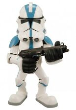 Star Wars CLONE TROOPER2006 Medicom VCD, Blue Vinyl Collectible Doll NOS Japan