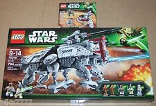 LEGO Star Wars AT-TE Clone Troopers vs. Droidekas 75019 75000 Mace Windu Coleman
