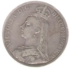 Great Britain Uk Coin Crown 1890 Km 765 Vf