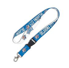 "Oklahoma City Thunder NBA 22"" Lanyard Key Chain OKC Wincraft 350596"