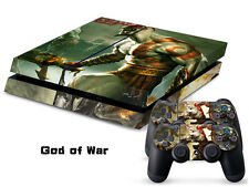 Sony PS4 Console and Controller Skins -- God of War Design 2 (#147)