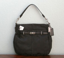 COACH $278 Chelsea Signature C ASHLYN HOBO Bag 17834 BLACK - NEW WITH TAG NWT