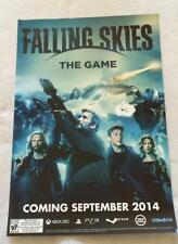 FALLING SKIES - THE GAME 13x19 Original Videogame Promo Poster SDCC 2014 MINT
