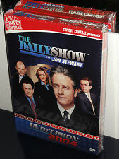 The Daily Show with Jon Stewart - INdecision 2004 (DVD) Comedy Central Video NEW