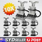 10 x 50Amp Anderson Plug Connectors T Handle Dust Cap Cover 20 Terminals 12-24V