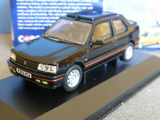 PEUGEOT 309 GTI MK2 BLACK RHD VANGUARDS VA11604A RIGHT HAND DRIVE 1/43 NOIRE