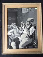 TRÈS GRANDE SOIE TISSÉE NEYRET ENFILERAS PAS / SOIE SAINT ETIENNE 52 x 41 cm