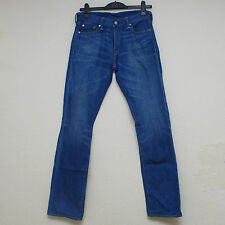 Mens Levis 504 Regular Straight Fit The Captain Jeans In Denim W30 L34
