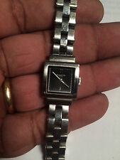 Lovely Ladies Silver Tone Kenneth Cole KC4176 Analog Watch
