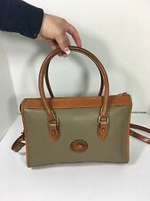 Vintage Dooney And Bourke All Weather Leather Shoulder Bag Purse
