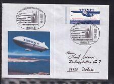 A 198 ) Germany Sonderbeleg SST Friedrichshafen 2005 - Zeppelin NT Weltjugendtag