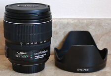 CANON EF-S 15-85mm f/3.5-5.6 IS USM Lens - 600D/650D/700D/750D/7D