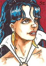 Vampirella 2011 Trading Cards Sketch Card drawn by Scott Zambelli /2