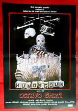HUMONGOUS 1982 JANET JULIAN DAVID WALLACE PAUL LYNCH UNIQUE EXYU MOVIE POSTER #2
