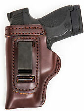 Sig Sauer P938 Outside The Waistband Leather Right Hand Brown Gun Holster *SALE*